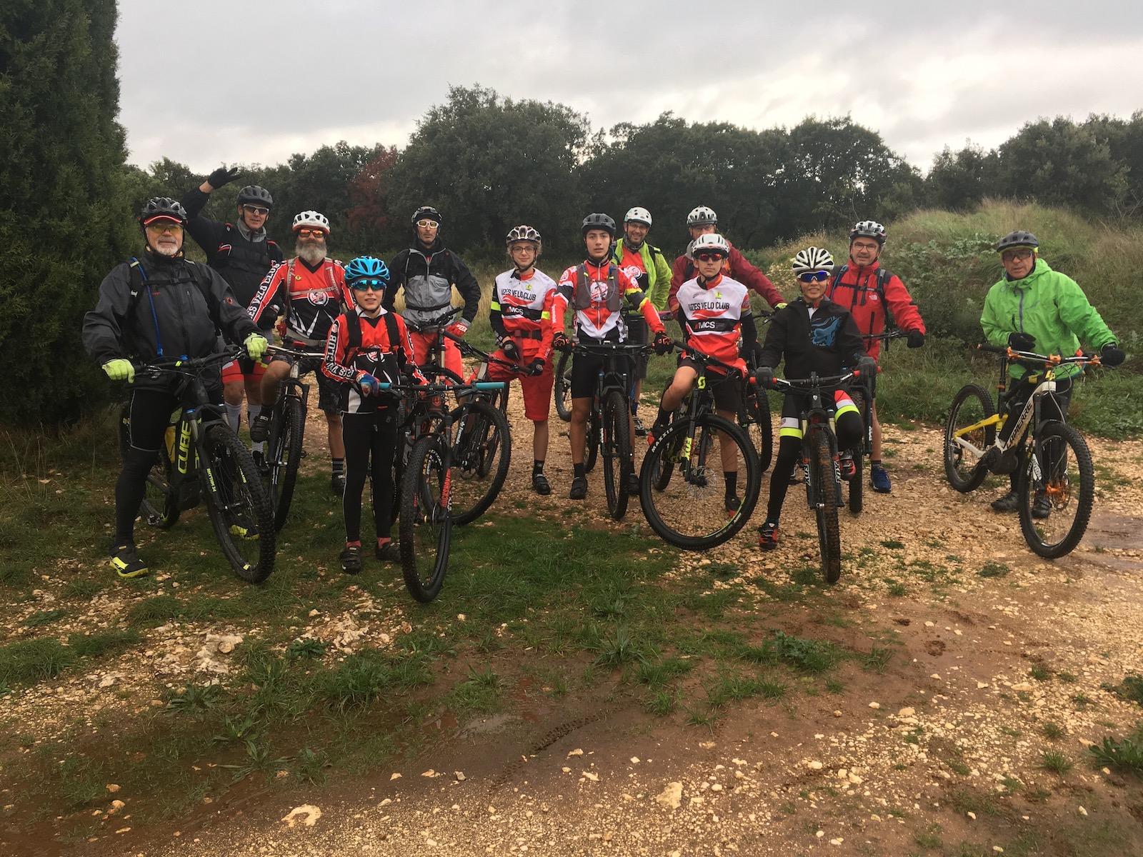 Reco boucle 20 km de la rando 55 de la Vttruffes 2019